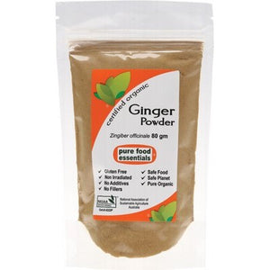 PURE FOOD ESSENTIALS Ginger Powder 80g