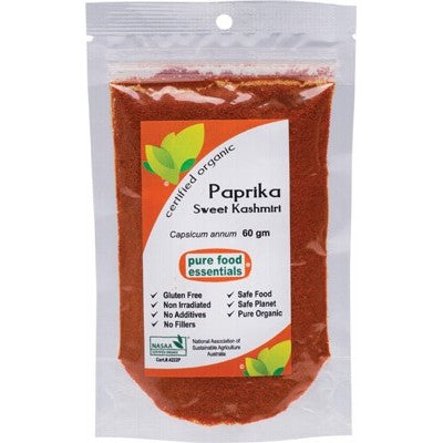 PURE FOOD ESSENTIALS Spices Paprika Powder 60g