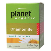 Load image into Gallery viewer, PLANET ORGANIC - Chamomile Tea tea bags