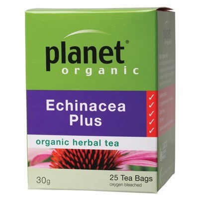 PLANET ORGANIC - Echinacea Plus 25 tea bags
