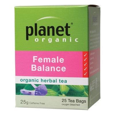 PLANET ORGANIC - Female Balance 25 tea bags