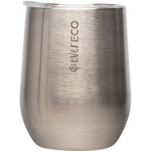 EVER ECO Insulated Tumbler Brushed Stainless Steel - 354ml