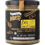 PURELY NUTZ Peanut Butter Crunchy - Honey and Cinnamon 270g
