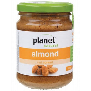PLANET NATURAL - Almond Nut Spread 250g