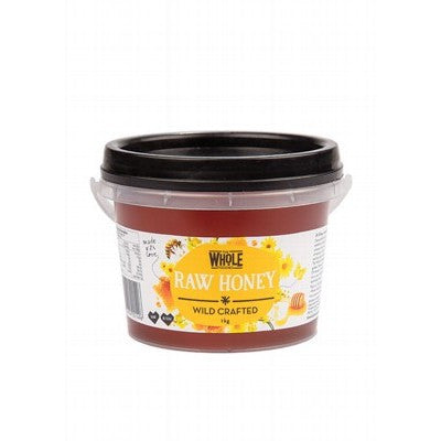 THE WHOLE FOODIES - Raw Honey Wild crafted
