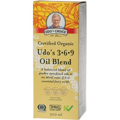 UDO'S CHOICE 3.6.9 Omega Oil Blend 500ml