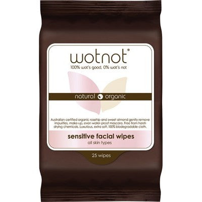 WOTNOT Facial Wipes Sensitive