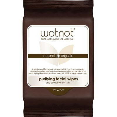 WOTNOT Facial Wipes Purifying