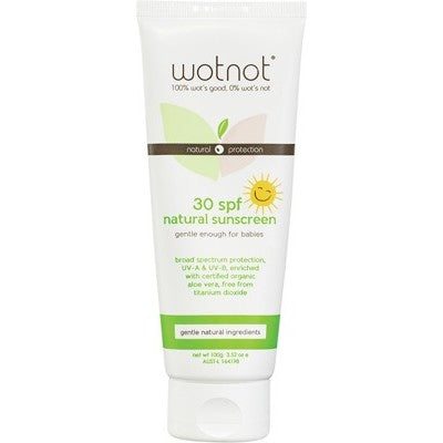 WOT NOT Baby Sunscreen 30+spf