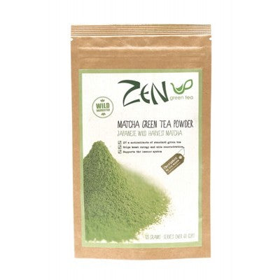 ZEN GREEN TEA Matcha Green Tea Powder 100% Japanese Harvest - 60g
