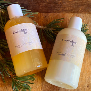 Northern Pine + Grapefruit. Botanical Shampoo, 8oz - Enevoldsen Limited