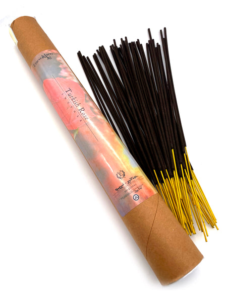 Turkish Rose Handmade Charcoal Incense- 75+ Sticks - Enevoldsen Limited