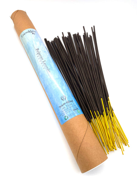 Bulgarian Lavender Handmade Charcoal Incense- 75+ Sticks - Enevoldsen Limited