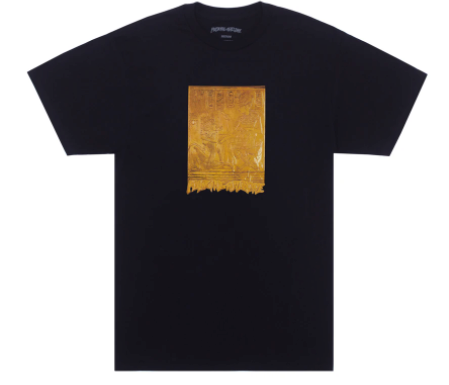 FA Gold Hieroglyphic T-Shirt Black