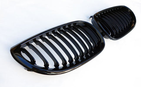 BMW E60 E61 Gloss Black Grills
