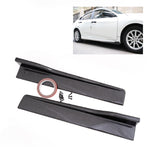 "Universal Carbon Design Look Side Skirt Rocker Splitters Diffuser Winglet Wind 24"" x 4"""