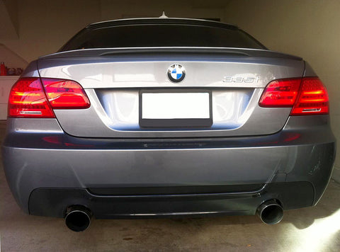 BMW E92 & E93 ABS Plastic Trunk Spoiler Lip Performance