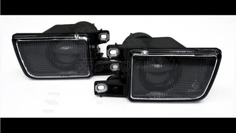 Black Euro Projector Fog Lights