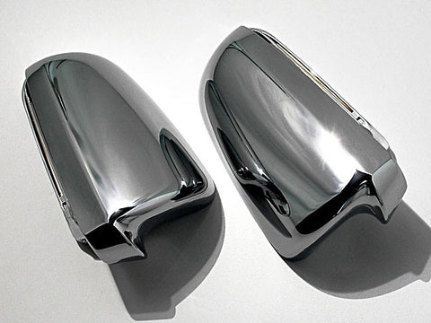 Audi A4 / S4 B6 / B7 Chrome Finish Mirror Caps 02-09