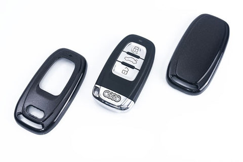 Audi Remote Key Cover Metallic Black