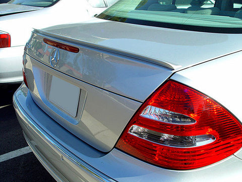 Mercedes Benz E Class W211 Sedan Trunk Spoiler Lip