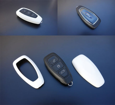 Ford Remote Key Cover White 07-