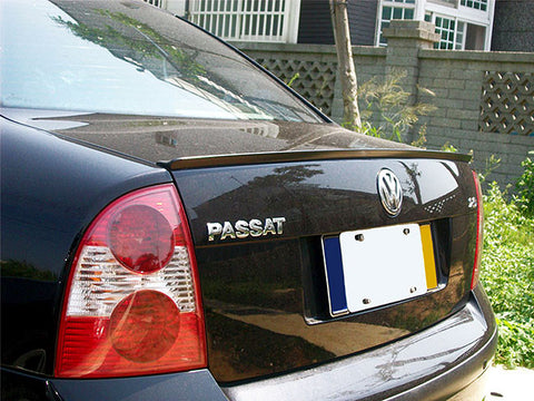 VW Passat B5.5 Sedan Trunk Spoiler Lip