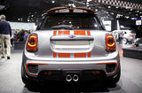 Mini F56 F55  S/JCW PRO Aerodynamic Rear Spoiler Extensions