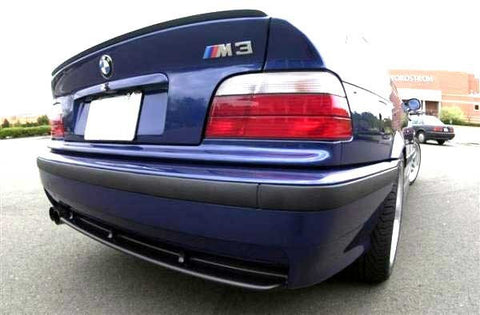 BMW E36 Sedan Trunk Spoiler Lip