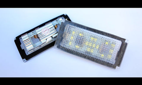 BMW E65 / E66 LCI LED License Plate Lights