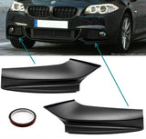 Bumper Corners Spoiler Chins Lip For BMW F10 F11 M-Package Sport 11-16