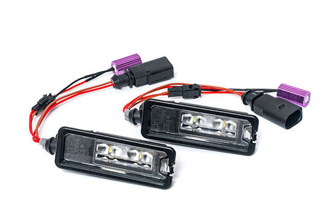 OEM Genuine VW LED License Plate Lights