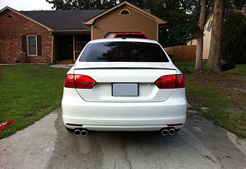 VW Jetta MK6 Sedan Trunk Spoiler Lip