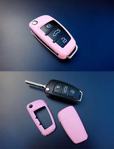 Audi Remote Key Cover Pink