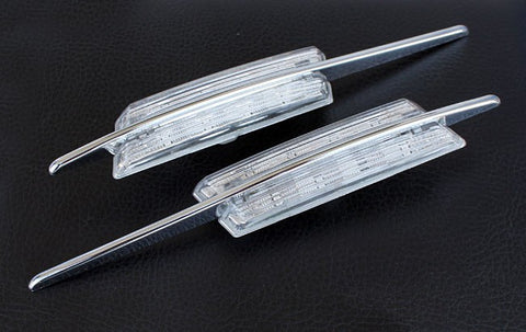 BMW E46 Pre-LCI M Style LED Clear Turn Signals