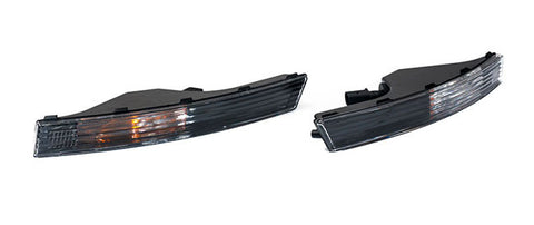 OEM Genuine VW Passat B6 Black Front Bumper Turn Signals