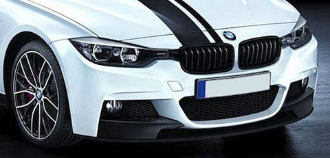 BMW F30 F31 Gloss Black Grills 12-Up