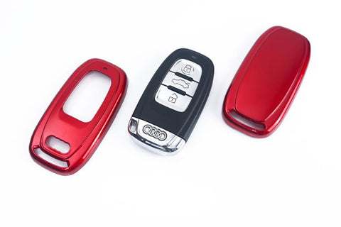 Audi Remote Key Cover Metallic Red