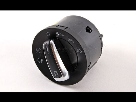 VW Chrome Trim Euro Auto Headlight Switch