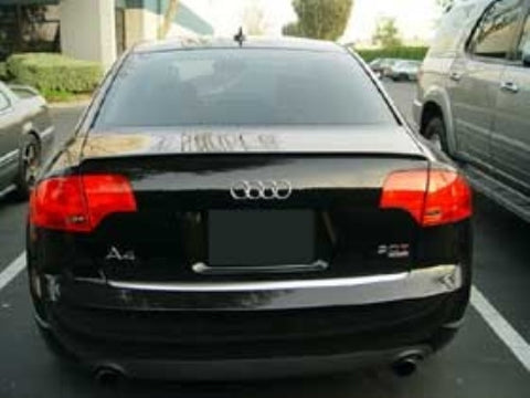 Audi A4 / S4 / RS4 B7 Sedan Trunk Spoiler Lip