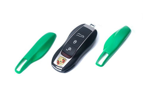Porsche Remote Key Cover Green