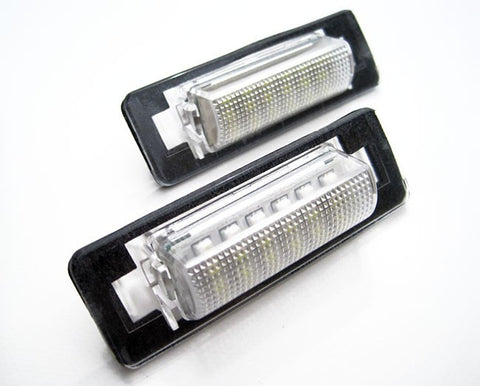 Mercedes Benz W202 W210 Facelift LED License Plate Lights