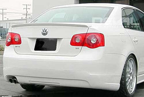 VW Jetta MK5 Sedan Trunk Spoiler Lip
