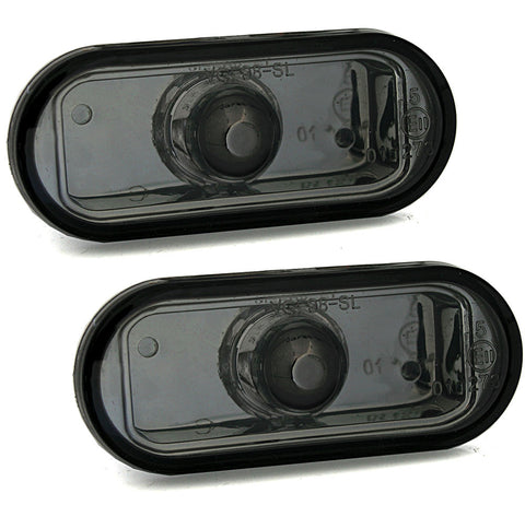 VW Clear Black Fender Turn Signals
