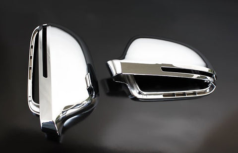 Audi A4 / S4 B8 Chrome Finish Mirror Caps 09-10