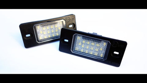 VW LED License Plate Lights