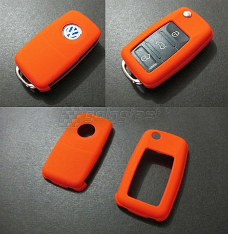 VW Remote Key Cover Orange -10/09