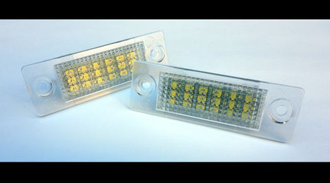 VW Jetta MK5 Passat B5.5 Sedan B6 Variant Wagon LED License Plate Lights