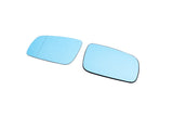 Audi Pre-Facelift Euro Mirror Glasses Blue Heated Aspheric / Convex (Large-Large)