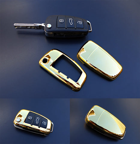 Audi Remote Key Cover GOLD